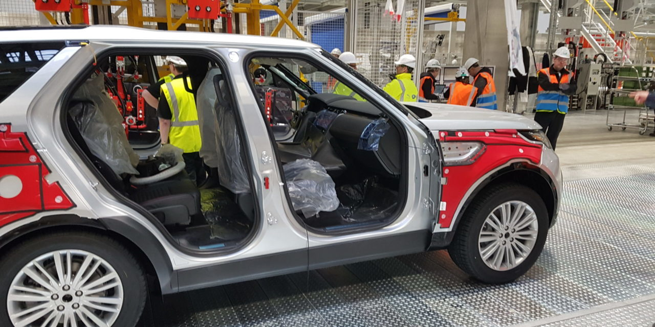 Automation systems for Jaguar Land Rover factory in Slovakia